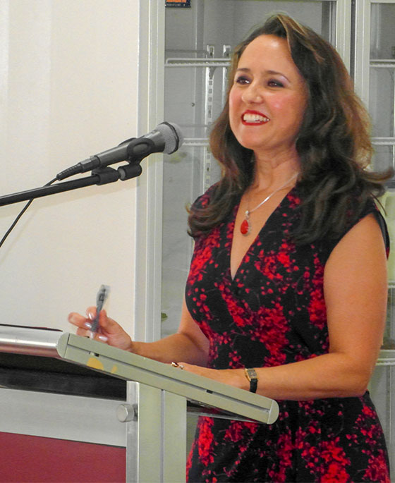 Sophie York addresses the Meeting of the Toowoomba Branch of the Australians for Constitutional Monarchy, 11 March 2018